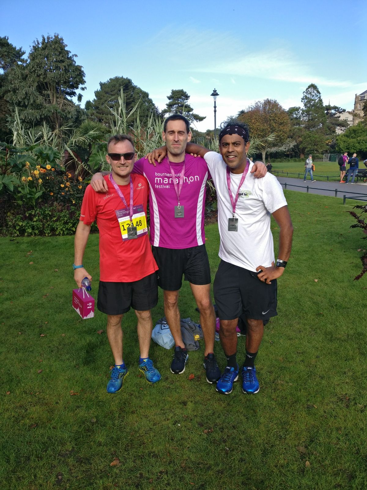 Poole doctor dons running shoes in aid of health awards