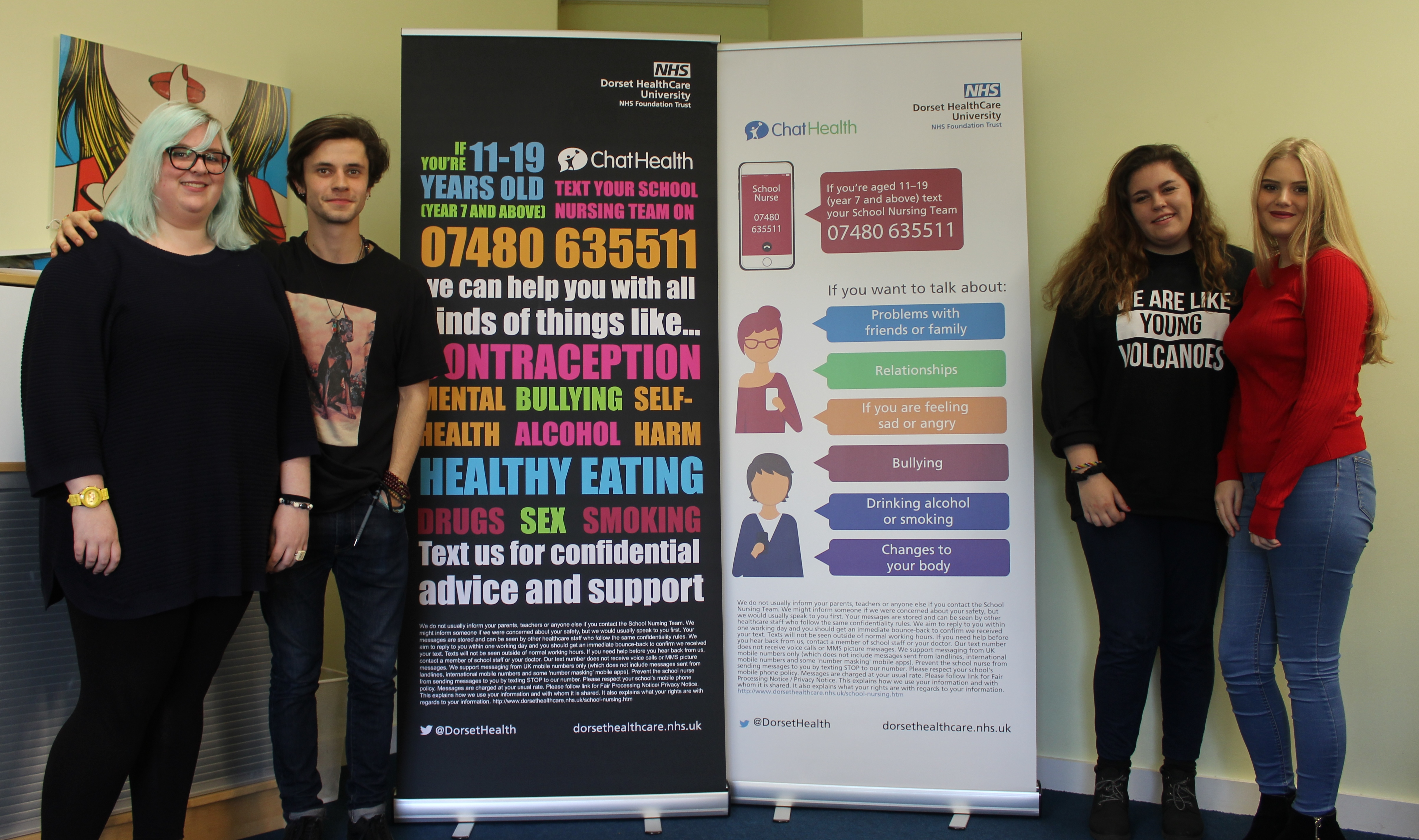 Inspirational Dorset teens share their experiences in moving health and wellbeing podcasts
